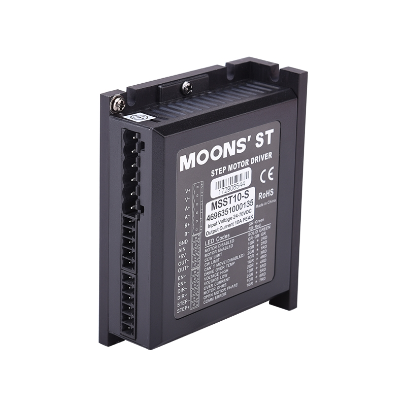 MSST10-S-1-ST Series Two Phase DC Stepper Motor Drives
