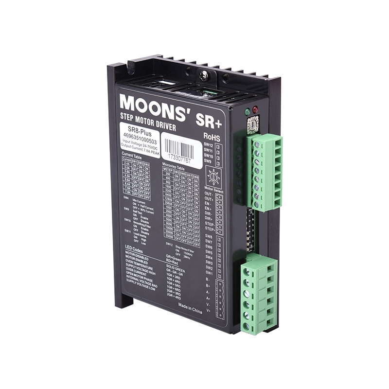 SR8-Plus-1-SR Series Two Phase DC Stepper Motor Drives