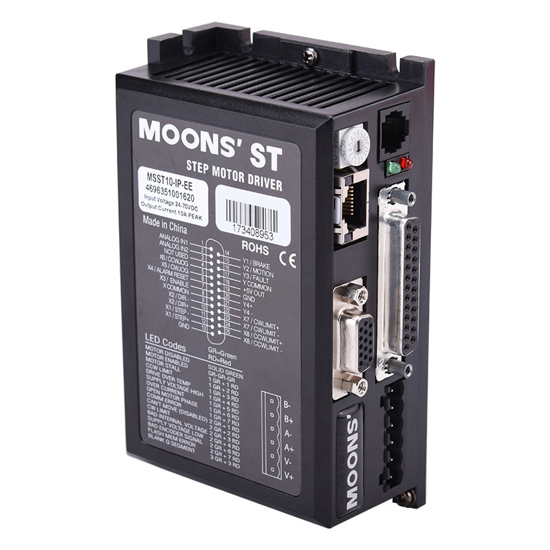 MSST10-IP-EE-1-ST Series Two Phase DC Stepper Motor Drives