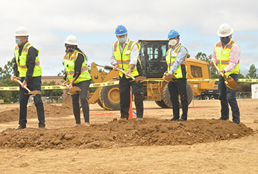 Groundbreaking for AMP's New Corporate Headquarters